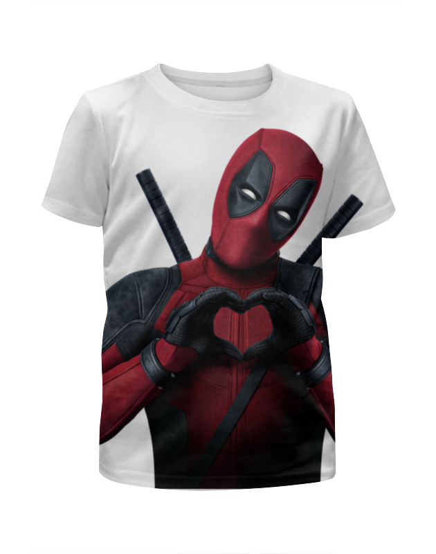Футболка с полной запечаткой для мальчиков Printio Love deadpool футболка с полной запечаткой для мальчиков printio bones brigade