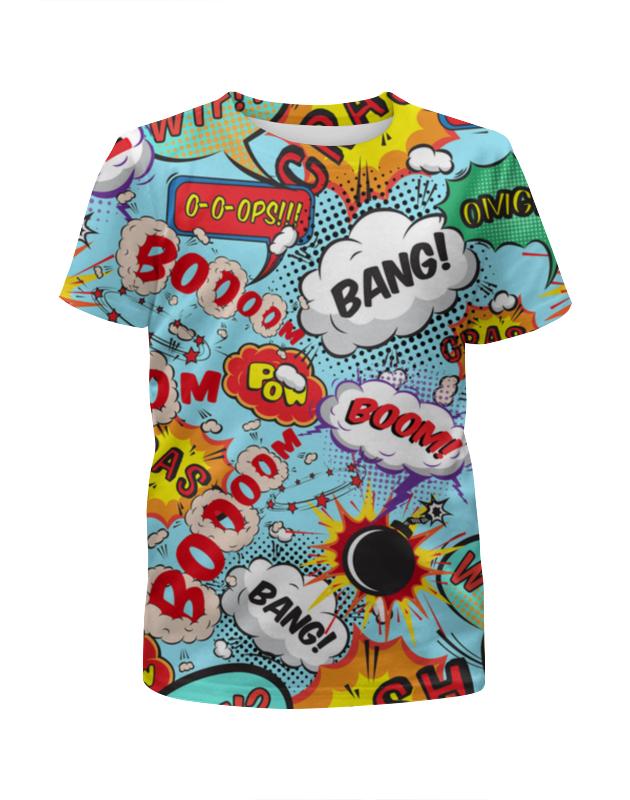 Футболка с полной запечаткой для мальчиков Printio Boooom! футболка с полной запечаткой для мальчиков printio warlock