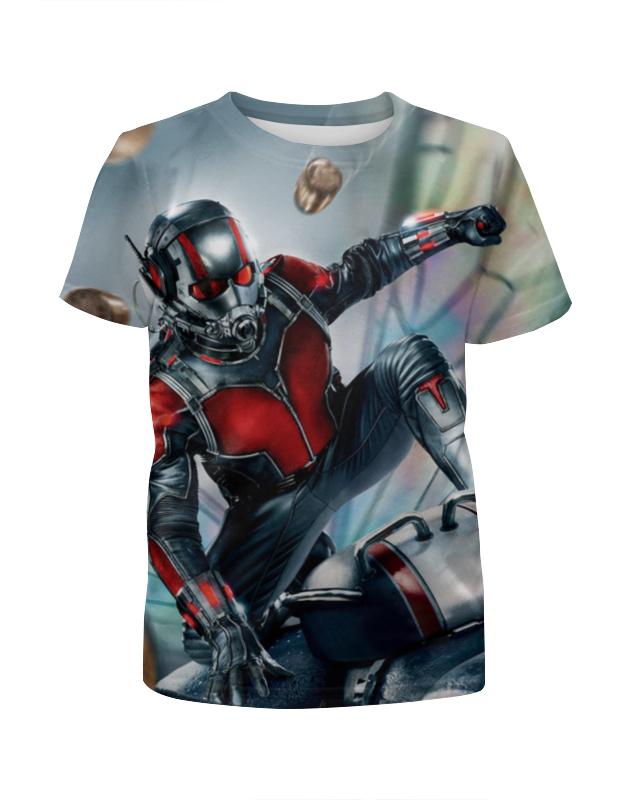 Футболка с полной запечаткой для мальчиков Printio Ant-man футболка классическая printio ant man 3d