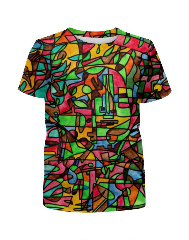 Футболка с полной запечаткой для мальчиков Printio Mr3d`v---=' футболка с полной запечаткой мужская printio mr3d v