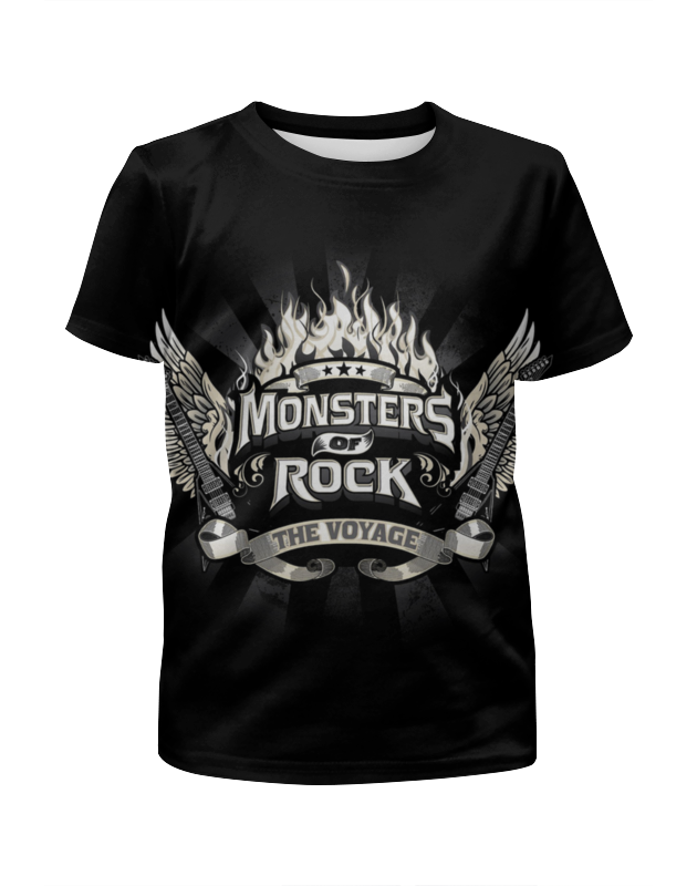 Printio Monsters of rock sticky monsters