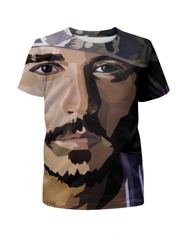 Футболка с полной запечаткой для мальчиков Printio Джонни депп футболка с полной запечаткой для мальчиков printio haiku