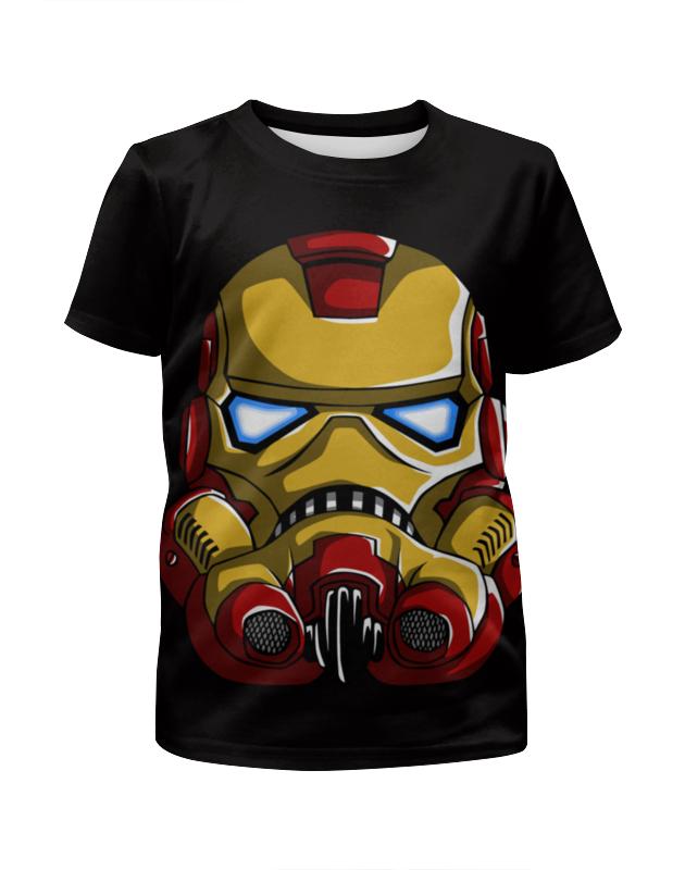 Футболка с полной запечаткой для мальчиков Printio Штурмовик (iron man) футболка с полной запечаткой женская printio штурмовик tr 8r