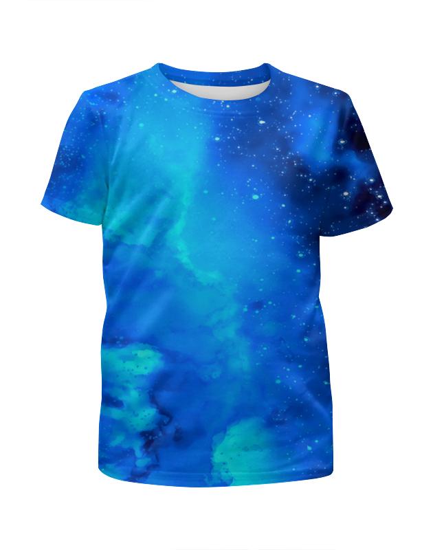 Футболка с полной запечаткой для мальчиков Printio Звездное небо платье летнее printio звездное небо
