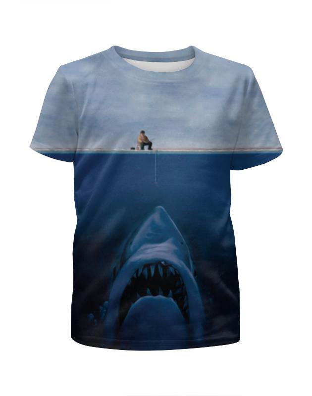 Футболка с полной запечаткой для мальчиков Printio Опасная рыбалка футболка с полной запечаткой для мальчиков printio braaaaatnsssss