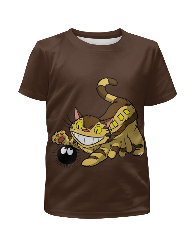Футболка с полной запечаткой для мальчиков Printio Чеширский кот футболка с полной запечаткой женская printio чеширский кот