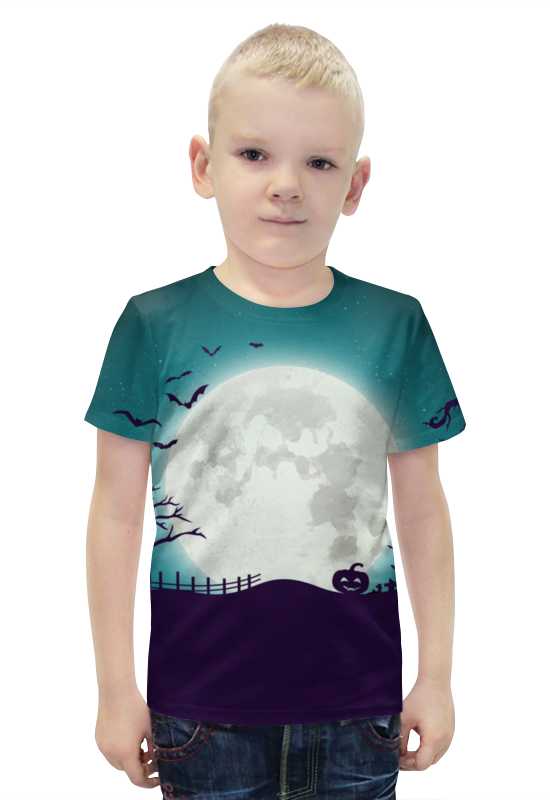 Футболка с полной запечаткой для мальчиков Printio Ночь всех святых футболка с полной запечаткой для мальчиков printio ночь всех святых