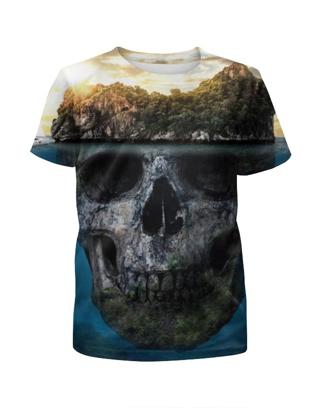 Футболка с полной запечаткой для мальчиков Printio Mysterious island футболка с полной запечаткой для мальчиков printio dead island
