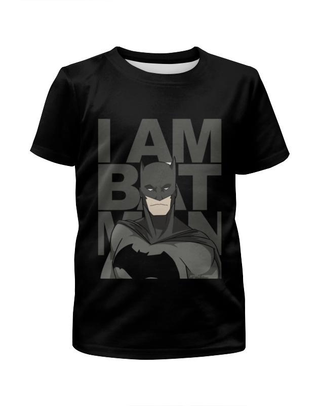 Футболка с полной запечаткой для мальчиков Printio Бэтмен (batman) футболка с полной запечаткой для мальчиков printio batman x joker бэтмен