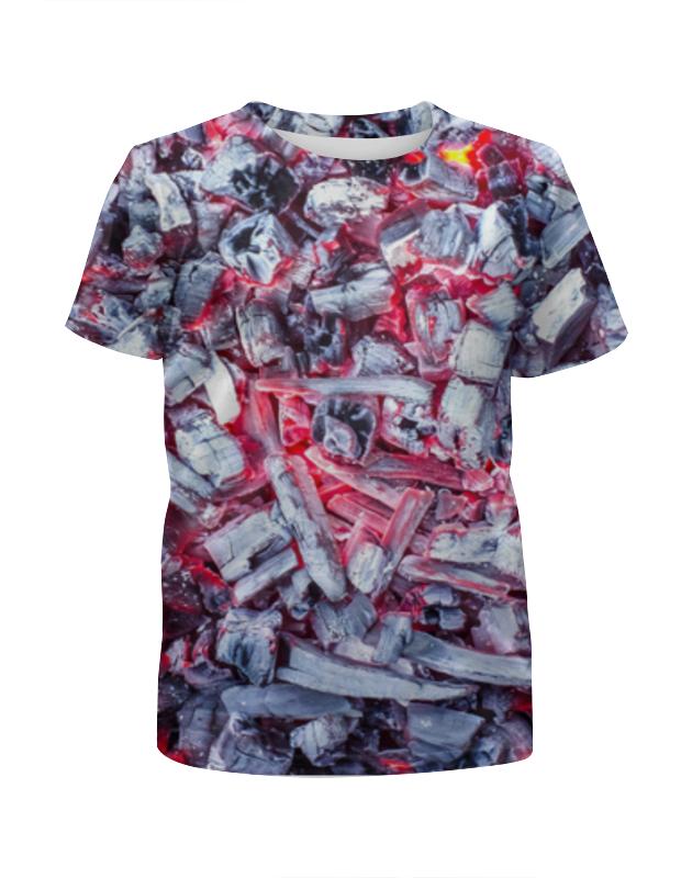 Футболка с полной запечаткой для мальчиков Printio Угли 3d футболка с полной запечаткой для мальчиков printio пузыри 3d