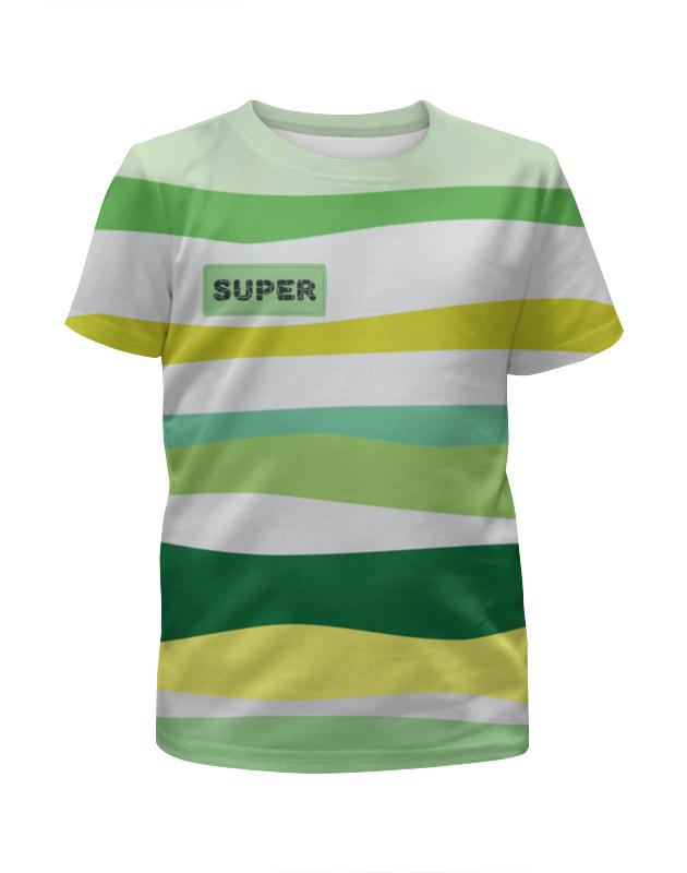 Футболка с полной запечаткой для мальчиков Printio Тропические волны футболка с полной запечаткой для мальчиков printio тропические рыбки