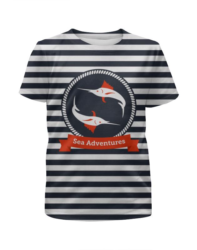 Printio Морские приключения футболка с полной запечаткой для мальчиков printio морские глубины
