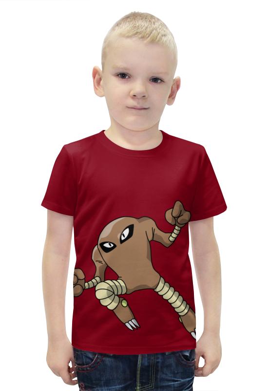 Футболка с полной запечаткой для мальчиков Printio Хитмонли футболка с полной запечаткой для мальчиков printio bats spawn arsb