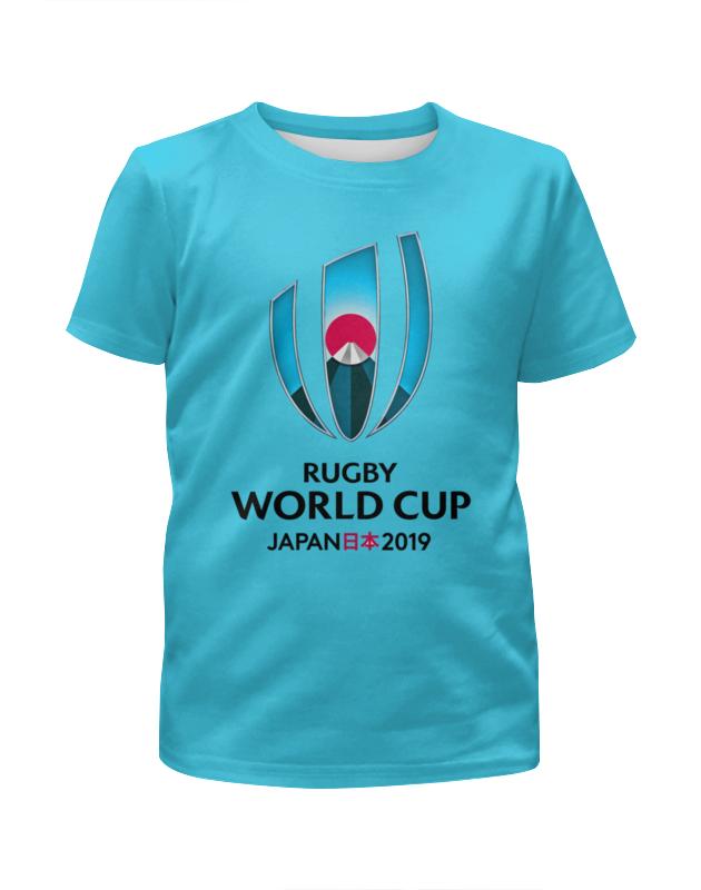 Футболка с полной запечаткой для мальчиков Printio Кубок мира по регби в японии чемпионат мира по регби 2019 африка 1 победитель утешительного турнира