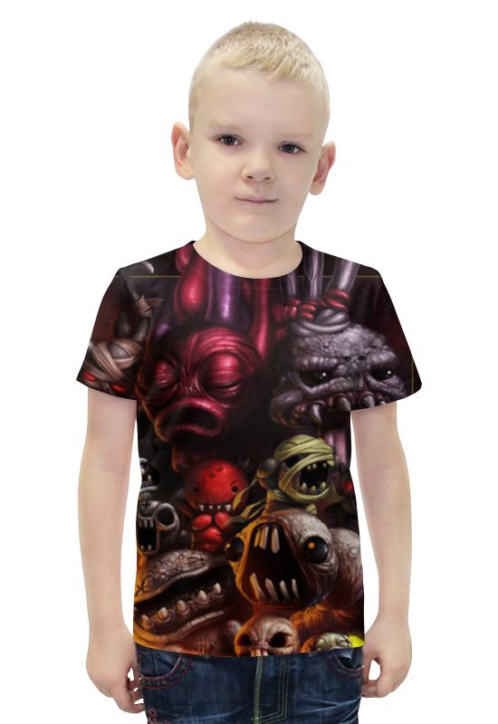 Футболка с полной запечаткой для мальчиков Printio Монстрики футболка с полной запечаткой для мальчиков printio bats spawn arsb