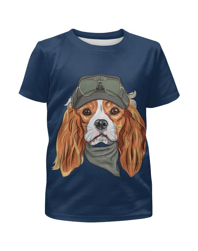 Футболка с полной запечаткой для мальчиков Printio Собака футболка с полной запечаткой для мальчиков printio 2018 год собаки