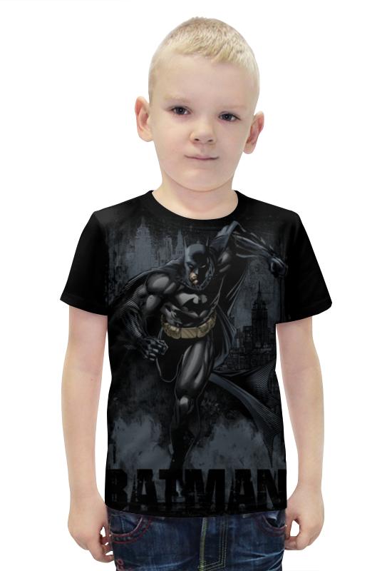 Футболка с полной запечаткой для мальчиков Printio Бэтмен футболка с полной запечаткой для мальчиков printio bats spawn arsb