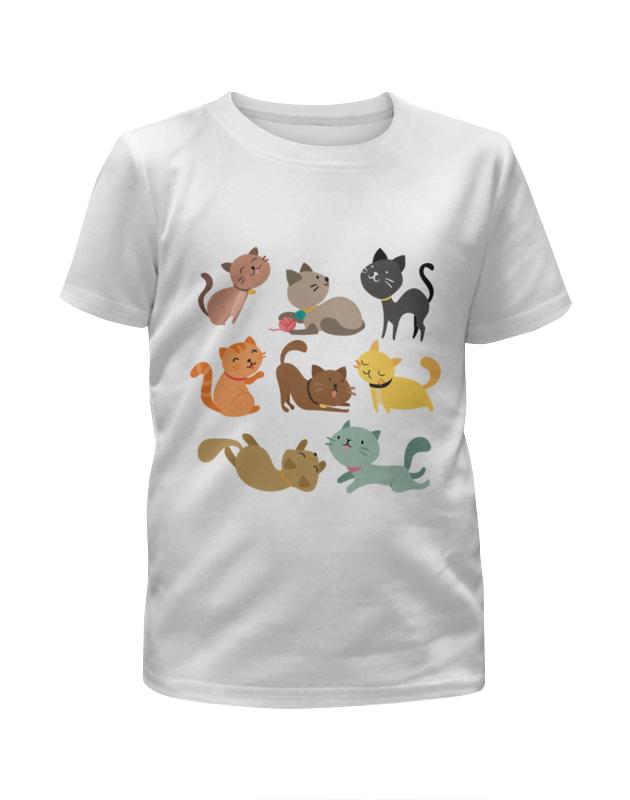 Футболка с полной запечаткой для мальчиков Printio Весёлые котята футболка с полной запечаткой для мальчиков printio bats spawn arsb
