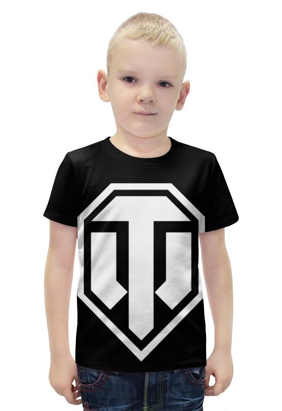 Футболка с полной запечаткой для мальчиков Printio Танки футболка с полной запечаткой для мальчиков printio bats spawn arsb