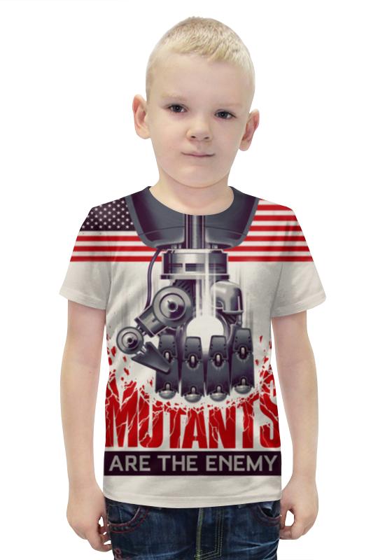 Футболка с полной запечаткой для мальчиков Printio Мутанты футболка с полной запечаткой для мальчиков printio bats spawn arsb