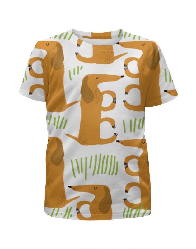 Футболка с полной запечаткой для мальчиков Printio Такса printio футболка с полной запечаткой для мальчиков
