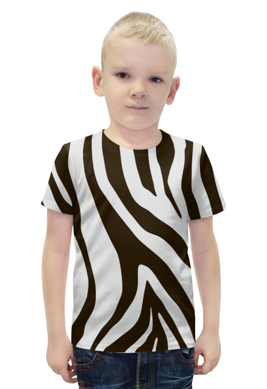 Футболка с полной запечаткой для мальчиков Printio Зебра футболка с полной запечаткой для мальчиков printio slove arsb