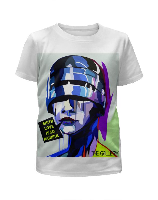 Футболка с полной запечаткой для мальчиков Printio Поп-арт дизайн футболка с полной запечаткой для мальчиков printio весёлый арт