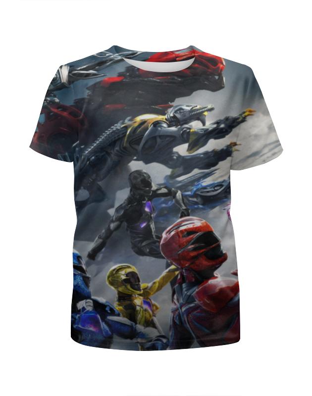 Футболка с полной запечаткой для мальчиков Printio Power rangers футболка с полной запечаткой printio могучие рейнджеры power rangers