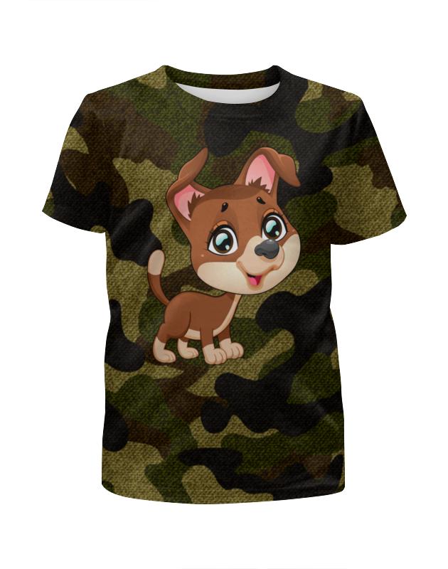 Printio Собачка футболка с полной запечаткой для мальчиков printio собачка