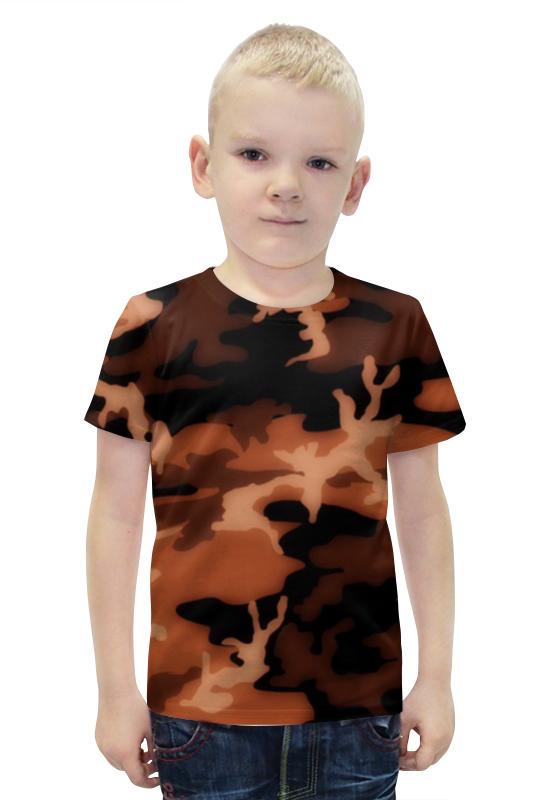 Футболка с полной запечаткой для мальчиков Printio Комуфляж футболка с полной запечаткой для мальчиков printio bats spawn arsb