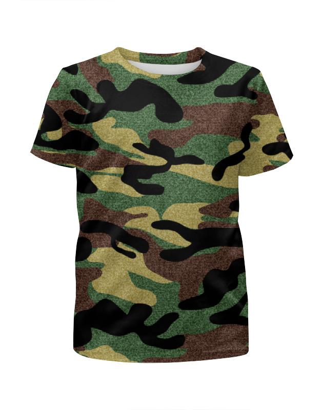 Футболка с полной запечаткой для мальчиков Printio Камуфляж футболка с полной запечаткой для мальчиков printio bones brigade