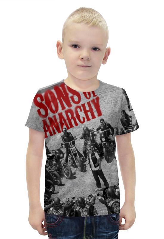 Футболка с полной запечаткой для мальчиков Printio Сыны анархии / sons of anarchy фартук с полной запечаткой printio сыны анархии