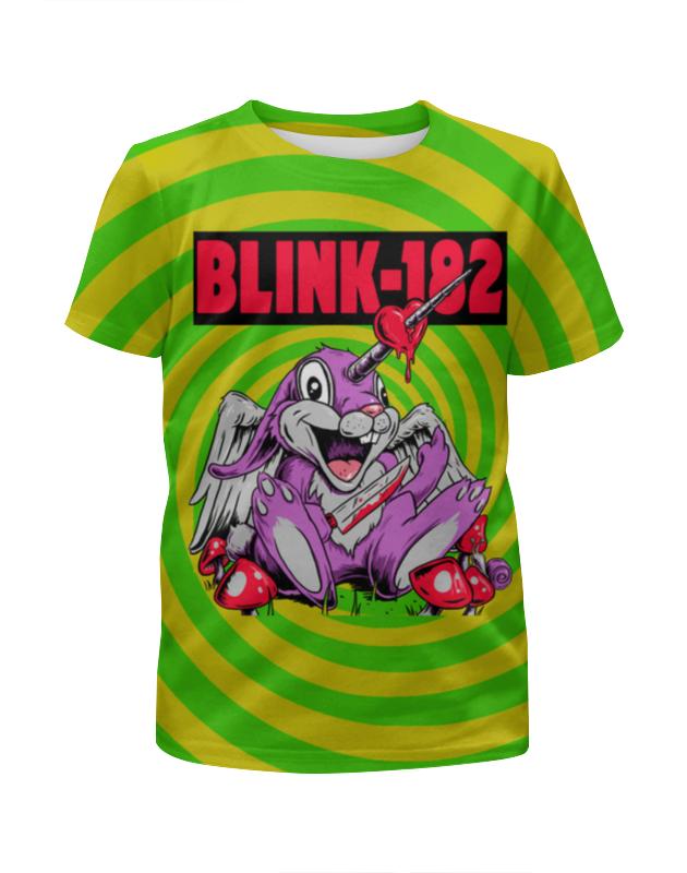 Футболка с полной запечаткой для мальчиков Printio Blink-182