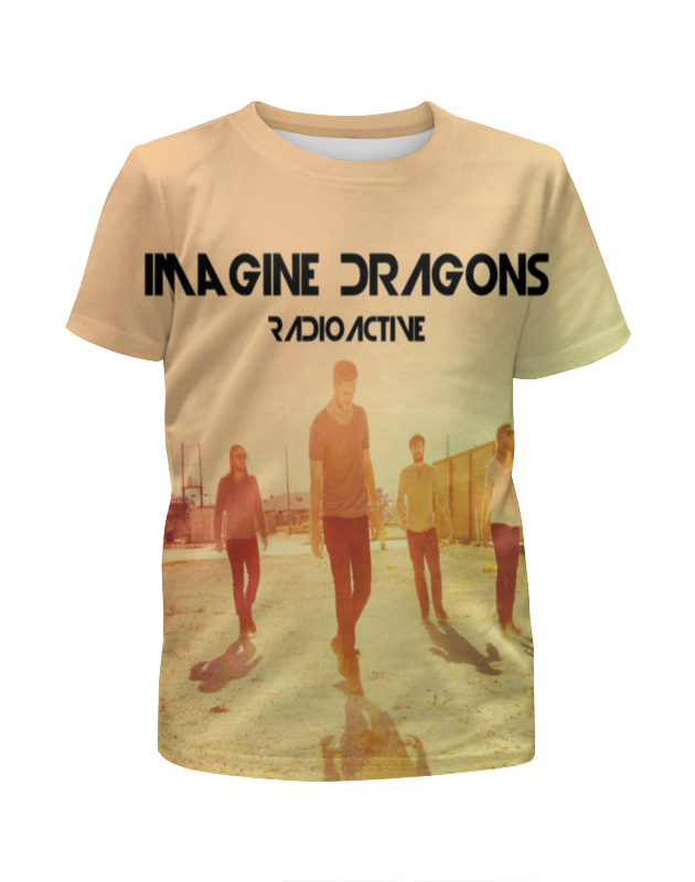 Футболка с полной запечаткой для мальчиков Printio Imagine dragons dragons фигурка toothless сидящий