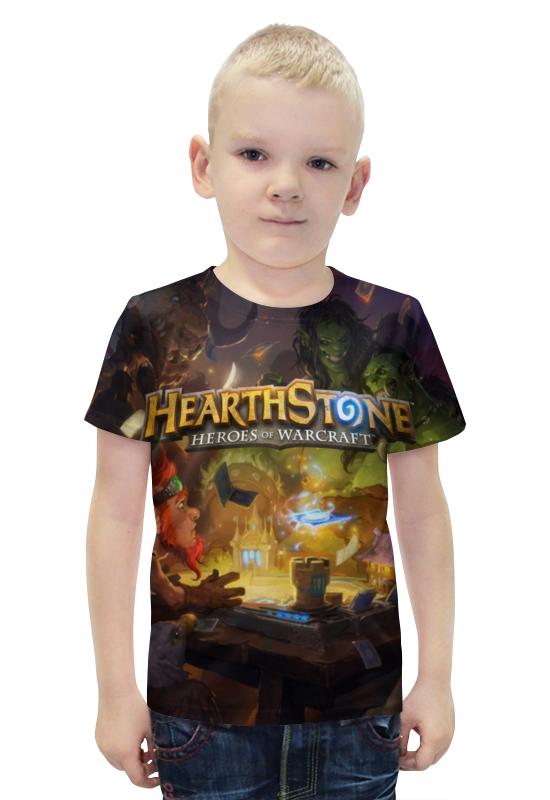 Футболка с полной запечаткой для мальчиков Printio Hearthstone футболка с полной запечаткой для мальчиков printio slove arsb