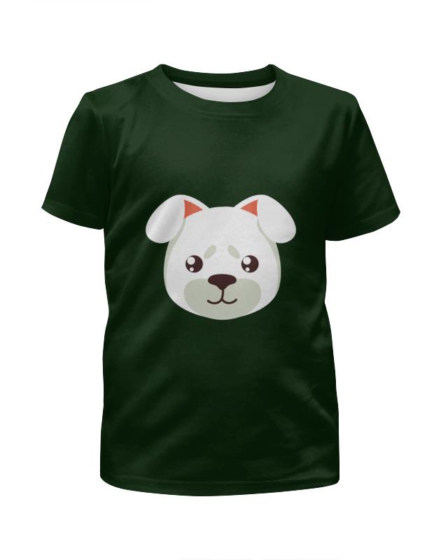 Футболка с полной запечаткой для мальчиков Printio Собачка футболка с полной запечаткой для мальчиков printio bones brigade