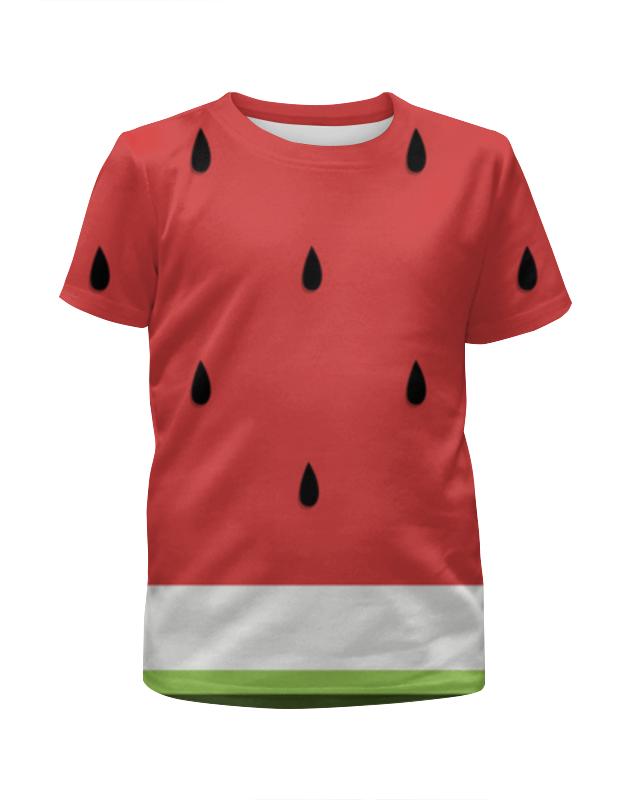Футболка с полной запечаткой для мальчиков Printio Арбуз 3d футболка с полной запечаткой для мальчиков printio леденцы 3d
