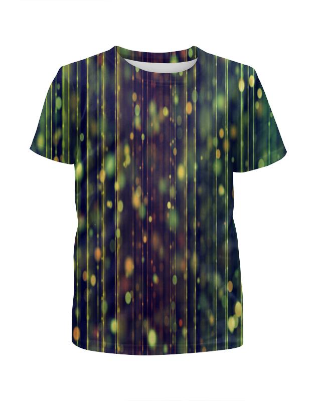 Футболка с полной запечаткой для мальчиков Printio Солнечные блики футболка с полной запечаткой мужская printio блики