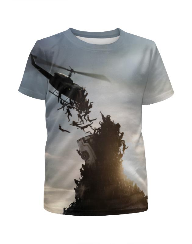 Футболка с полной запечаткой для мальчиков Printio World war z футболка с полной запечаткой для мальчиков printio tides of war