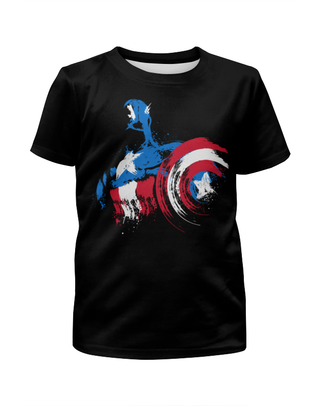 Футболка с полной запечаткой для мальчиков Printio Капитан америка футболка с полной запечаткой для мальчиков printio bats spawn arsb