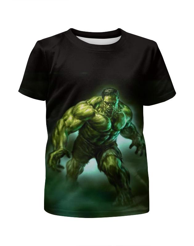 Printio Зеленый монстр футболка с полной запечаткой для мальчиков printio яркий зеленый