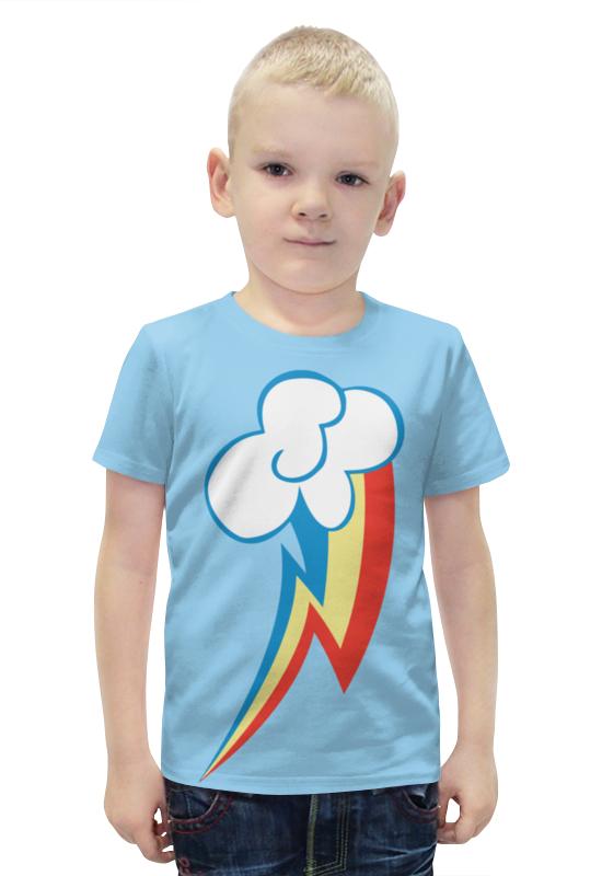 Футболка с полной запечаткой для мальчиков Printio Rainbow dash / рейнбоу дэш футболка стрэйч printio rainbow dash рейнбоу дэш