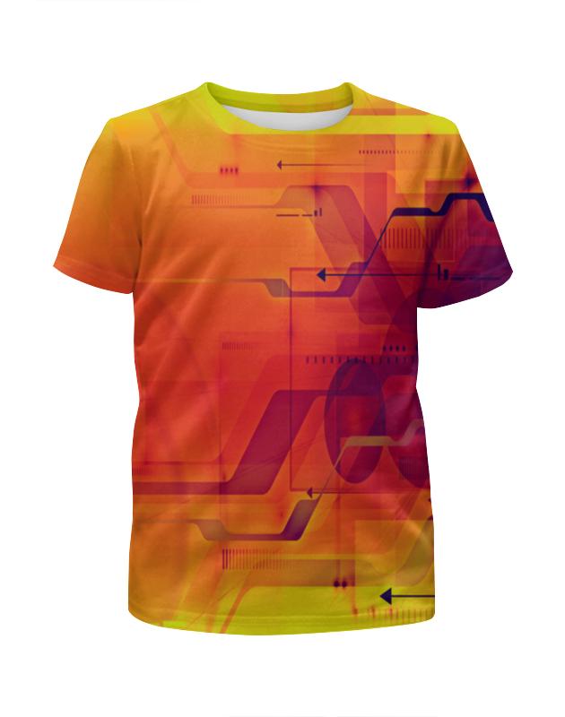 Футболка с полной запечаткой для мальчиков Printio Узор абстрактный футболка с полной запечаткой для мальчиков printio фруктовая