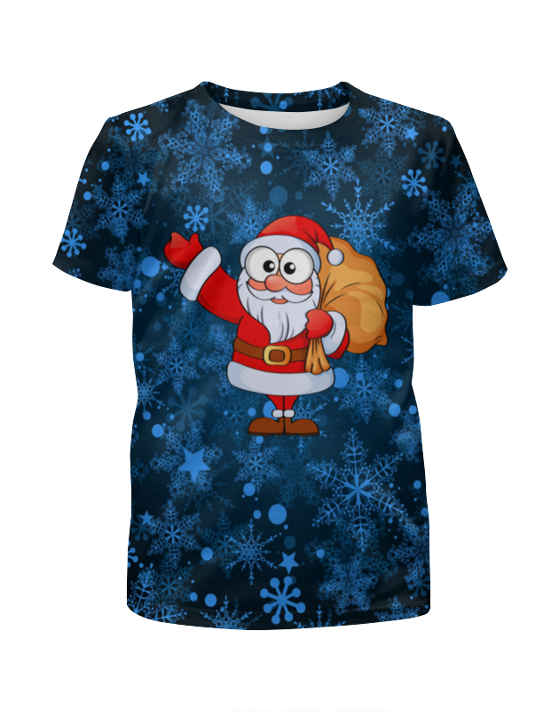 Футболка с полной запечаткой для мальчиков Printio Мешок подарков футболка с полной запечаткой для мальчиков printio bats spawn arsb