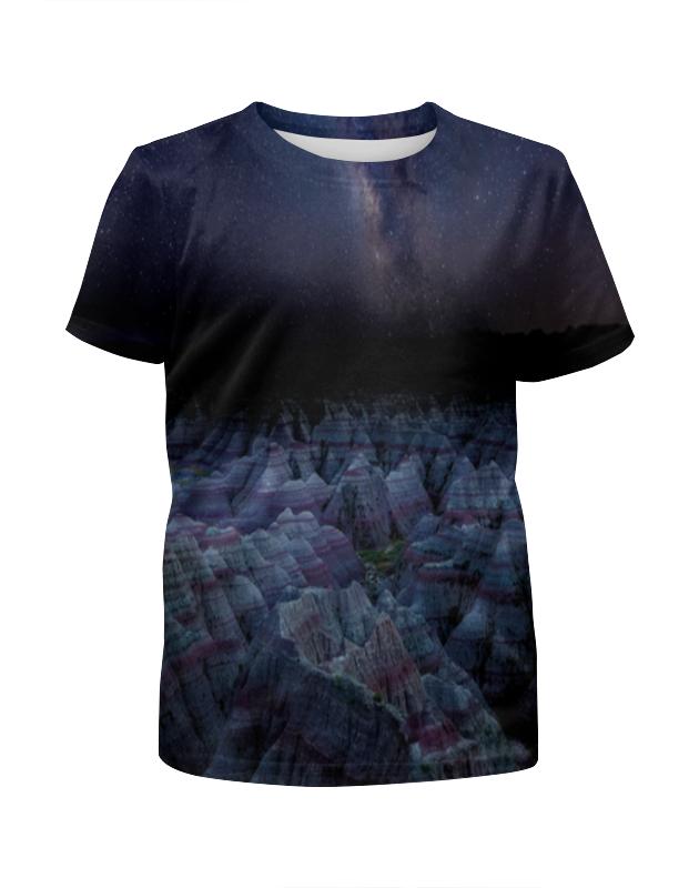 Футболка с полной запечаткой для мальчиков Printio Звёздная ночь футболка с полной запечаткой для мальчиков printio ночь всех святых