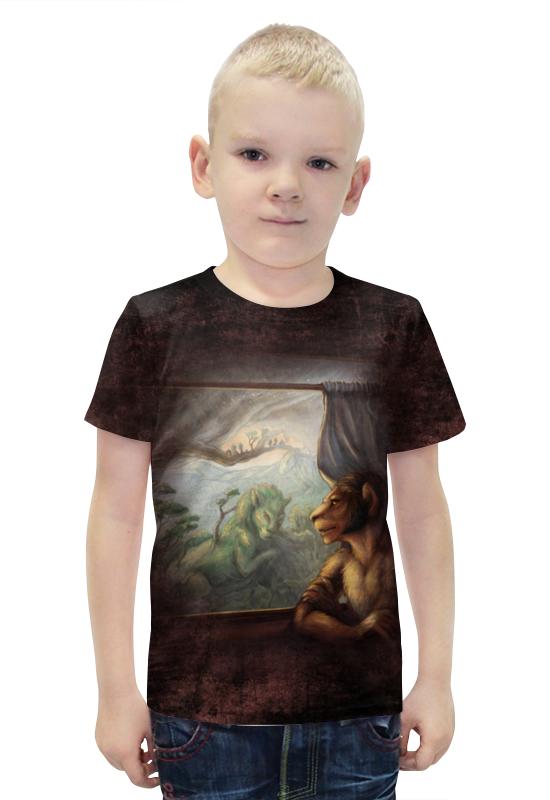Футболка с полной запечаткой для мальчиков Printio Мысли о прошлом футболка с полной запечаткой printio война миров z