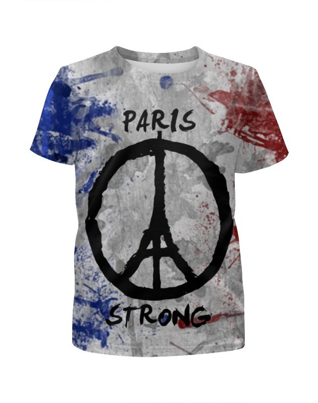 все цены на Футболка с полной запечаткой для мальчиков Printio Мир парижу (peace for paris)
