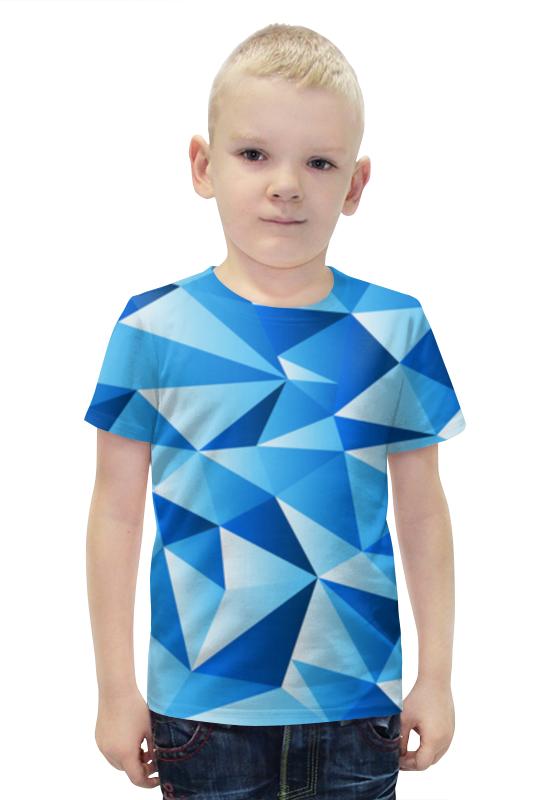 Футболка с полной запечаткой для мальчиков Printio Треугольник футболка с полной запечаткой для мальчиков printio bats spawn arsb