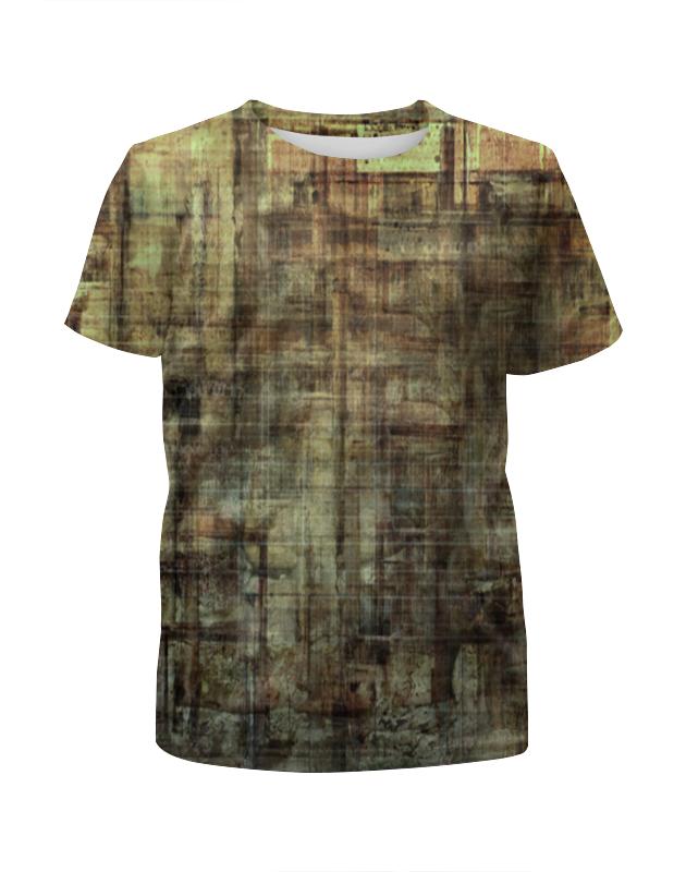 Футболка с полной запечаткой для мальчиков Printio Текстура 3d футболка с полной запечаткой для мальчиков printio леденцы 3d