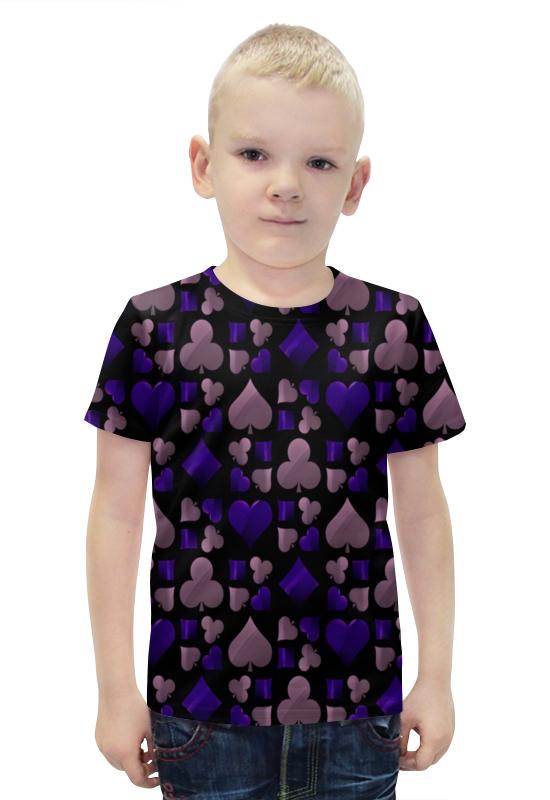 Футболка с полной запечаткой для мальчиков Printio Покер футболка с полной запечаткой для мальчиков printio bats spawn arsb